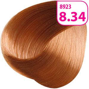 тон 8.34 «Светлый блондин золотисто-медный»