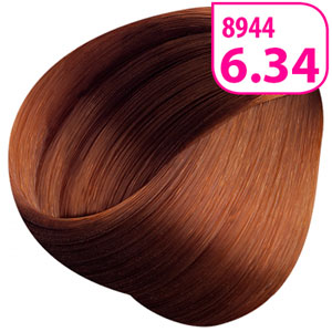 тон 6.34 «Темный блондин золотисто-медный»