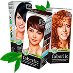 Стойкие крем-краски Faberlic  (без аммиака)